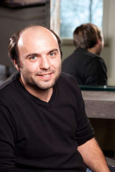 ContactSkin - Michael vorher | Haarcenter Hess Zweithaarspezialist in Rosenheim