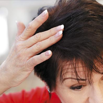 Volles Haar dank Toppik-Hilfe | Haarcenter Hess